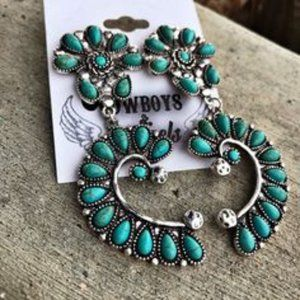 Jewelry - For the Love of Turquoise Earrings